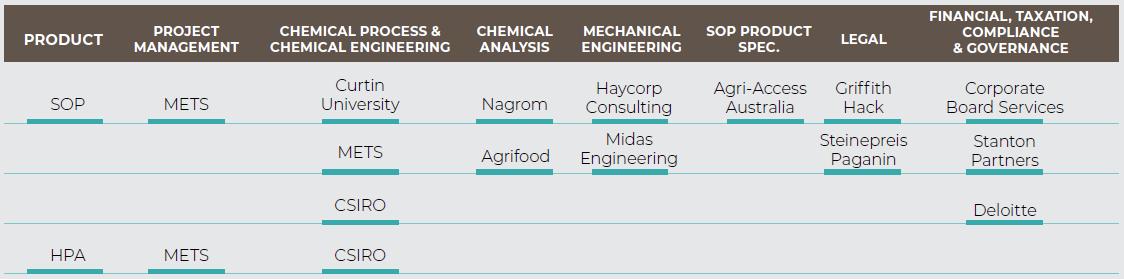 Industry Consultants